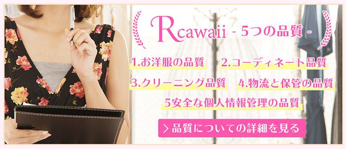 Rcawaii(アールカワイイ)を利用する際の注意点について